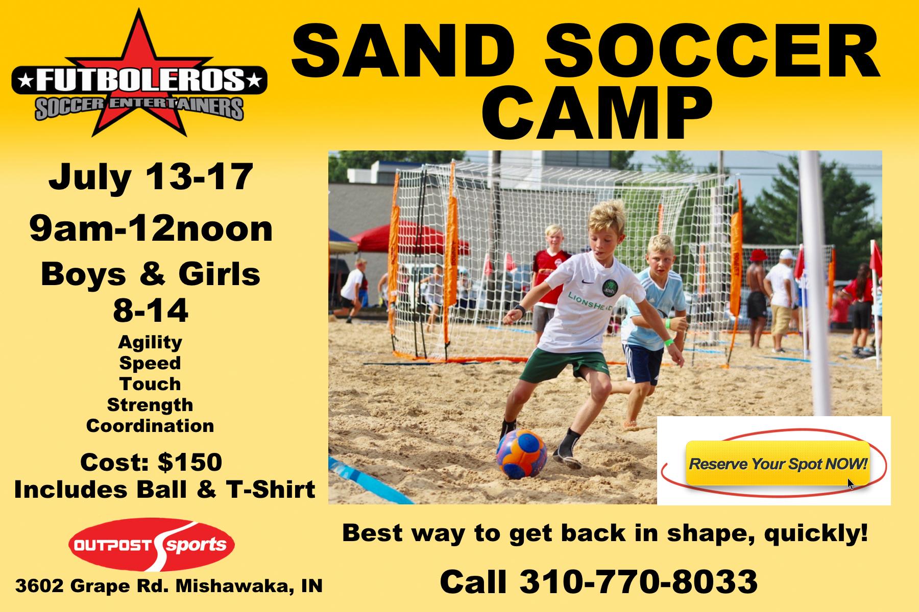 Futboleros Summer Sand Soccer Camp July 13-17, 2020 00002