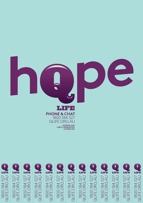 QLife Poster - Hope - A3 & A4