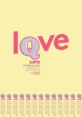 QLife Poster - Love - A3 & A4