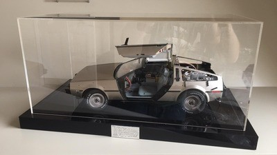 Delorean Display Base & Cabinet