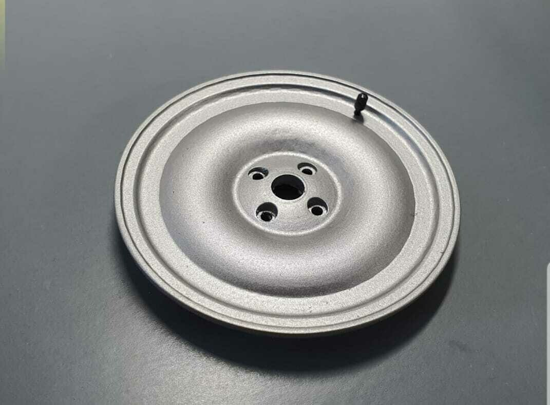 Delorean 1:8 scale Spare wheel cover
