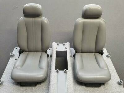 DeLorean 1:8 Scale Replacement Seats