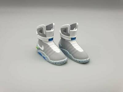 DeLorean 1:8 scale Nike Trainers