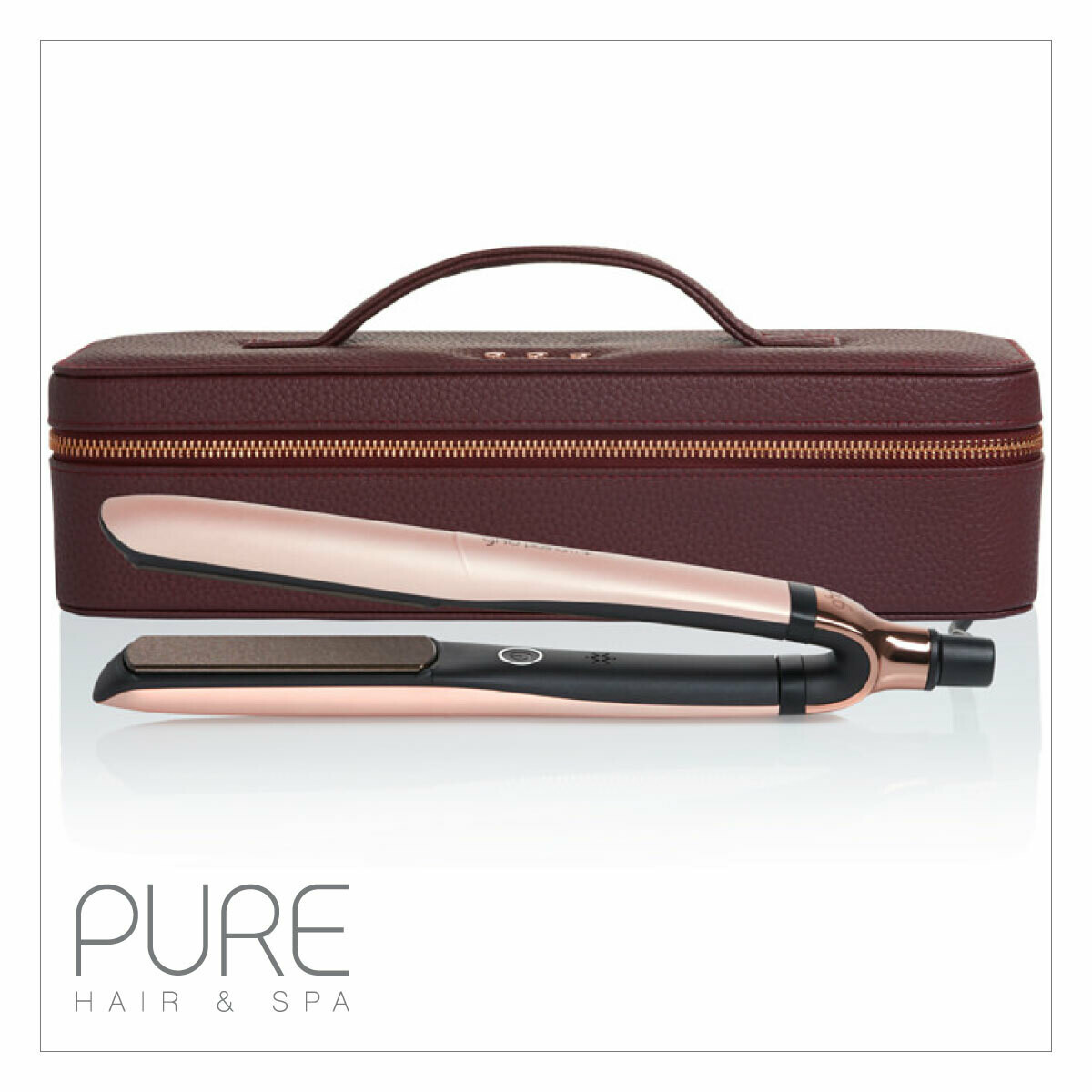 ghd platinum+ rose gold gift set