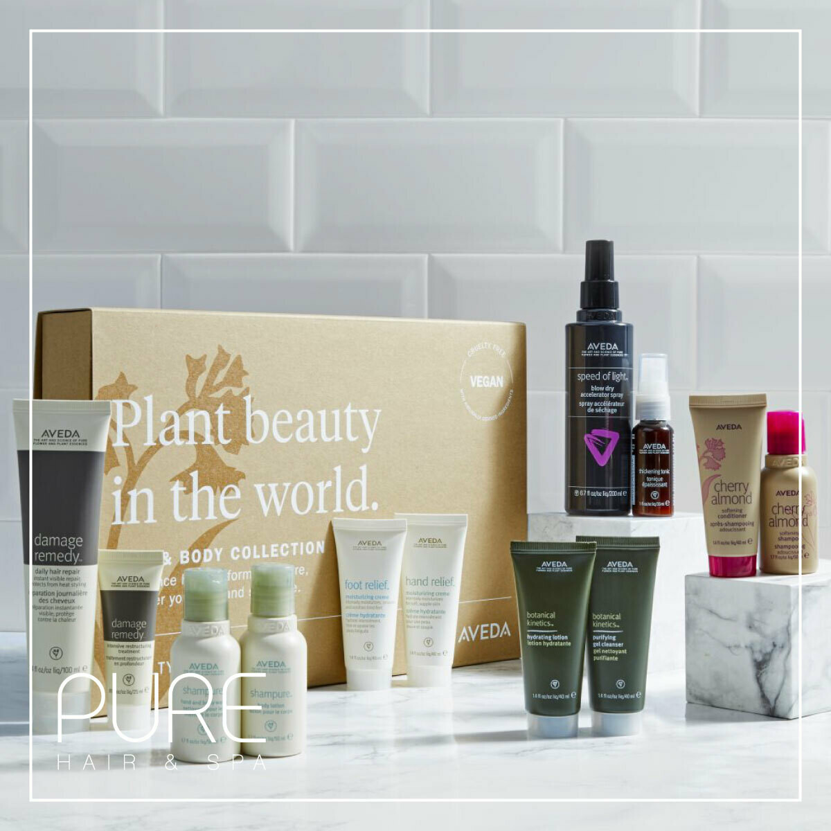 Aveda Vegan Edit Hair & Body Gift Set