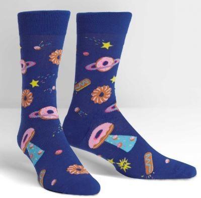 Glazed Galaxy Men's Crew Socks
