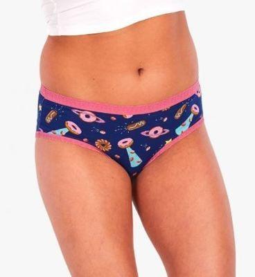 Glazed Galaxy Women's Hipster Underwear