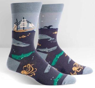 Sea Voyage Men's Crew Socks