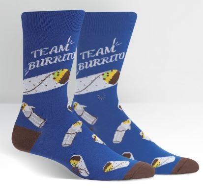 Team Burrito Men's Crew Socks