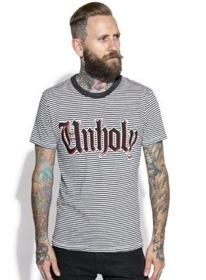 Unholy Striped Tee