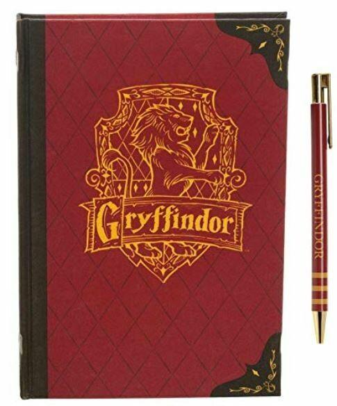 Harry Potter Gryffindor Pen And Journal Set