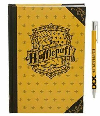 Harry Potter Hufflepuff Journal And Pen Set
