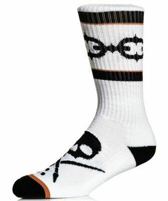 Linked Socks White