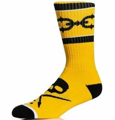 Linked Socks Yellow