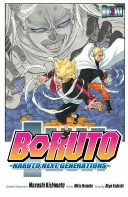 Borunto Naruto Next Generations Volume 2