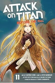 Attack On Titan Before The Fall Volume 11