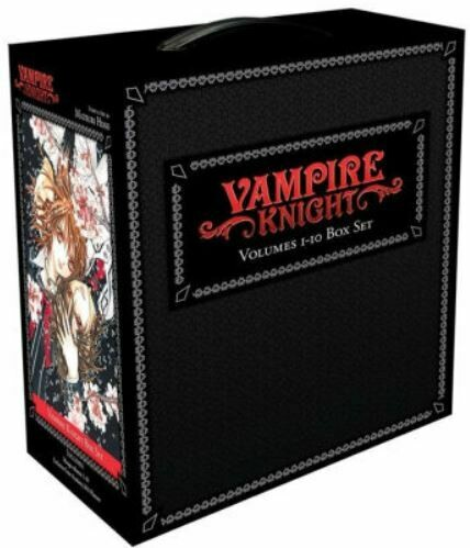 Vampire Knight Volumes 1-10 Box Set