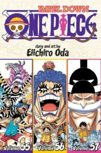Impel Down One Piece Volume 55,56,57