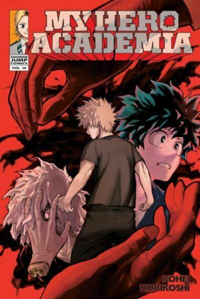 My Hero Academia Volume 10
