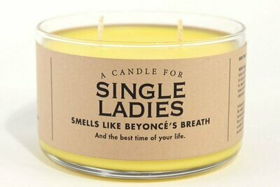 Single Ladies Candle