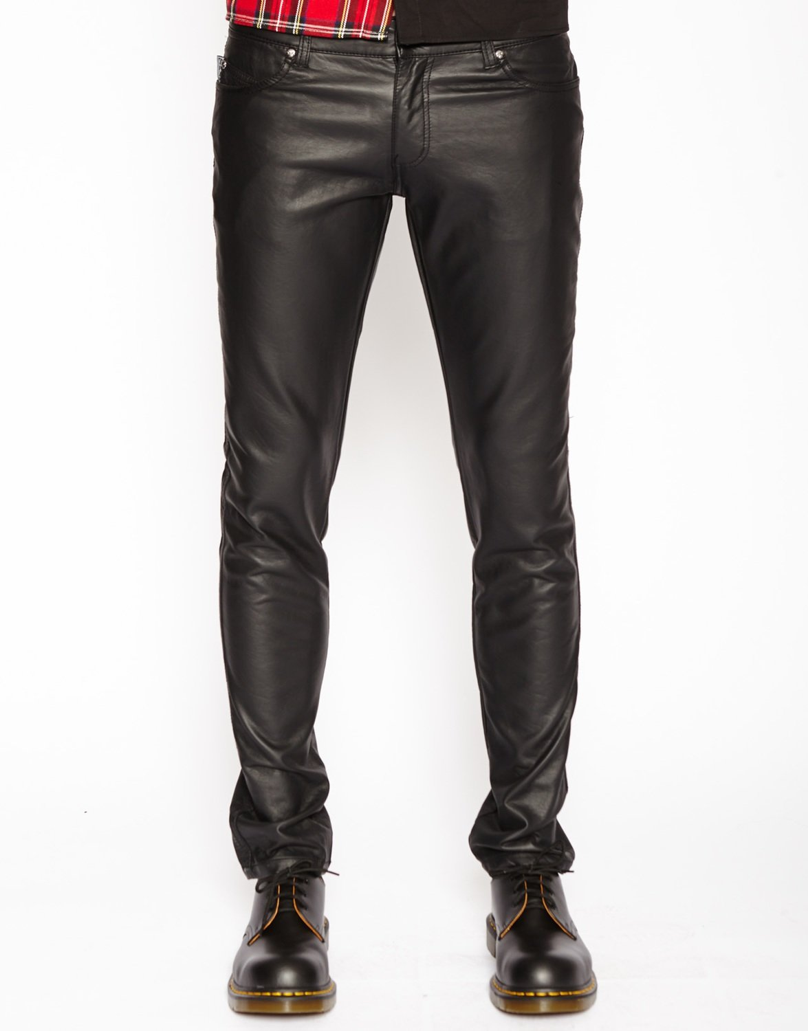 Faux Leather Tripp Jean