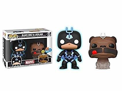 Black Bolt And LockJaw Pop 2 Pack