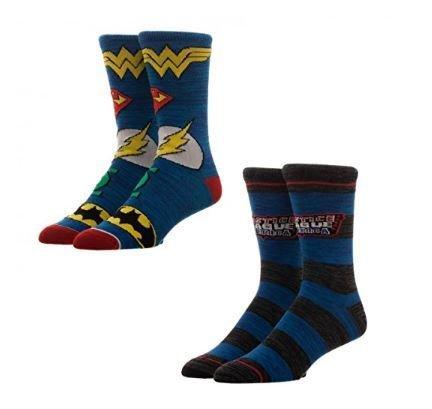 Justice League Crew Socks