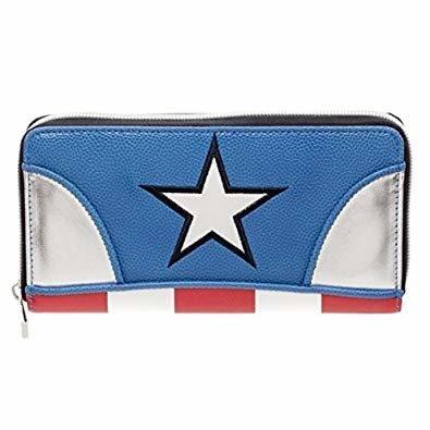 Captain America Clutch Wallet