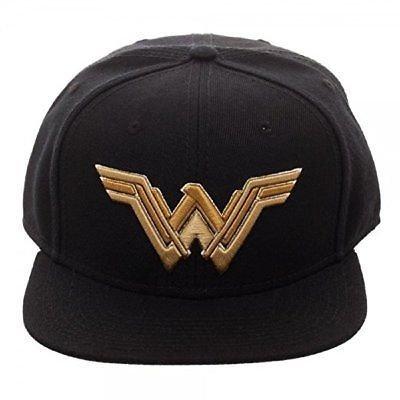 Wonder Woman Black Snapback