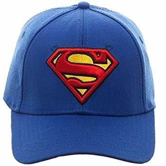 Superman Snapback Blue