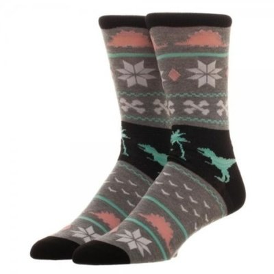 Dinosaur Holiday Crew Socks