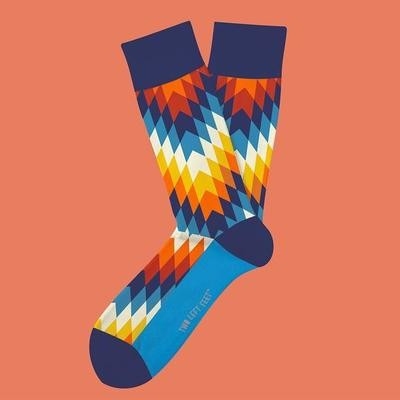 Native Grounds Socks
