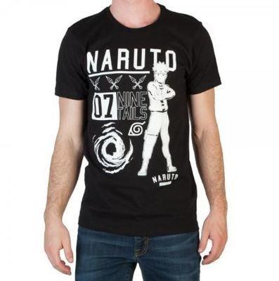 Naruto Black Tee