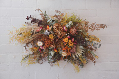 Everlasting Floral Wall Hanging