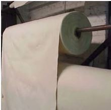 """#10 Unfinished Canvas Duck Roll – Full Roll Approx 100 Yards 144 """" Width (Full Roll is 50 Yards)"""