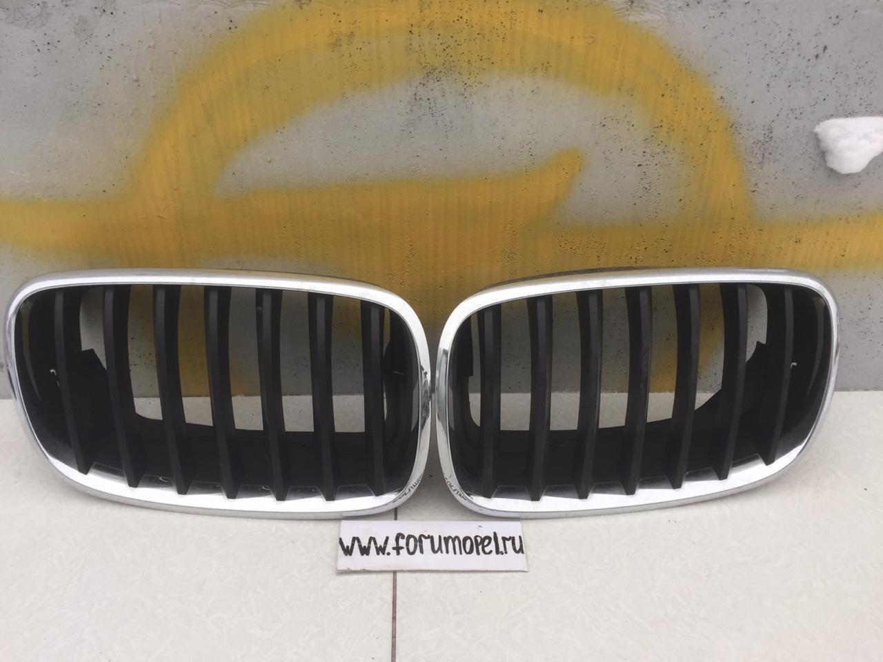 НОЗДРИ BMW X5 E70 2007-2013 ХРОМ БУ