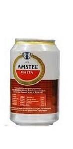 AMSTEL MALTA CAN DRINK 33CL