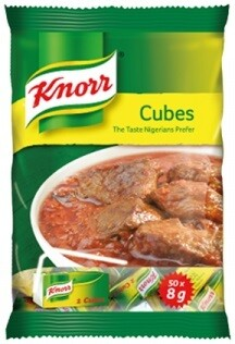 KNORR CUBES 50X8G 400G