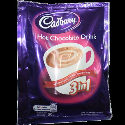 CADBURY HOT CHOCOLATE DRINK 3IN1 30G
