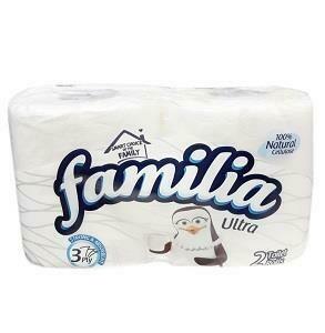 FAMILIA CLASSIC NATURAL WHITENESS 2 TOILET ROLLS