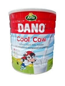 DANO COOL COW INSTANT FILLED MILK POWDER 400G TIN