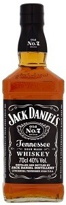 JACK DANIELS TENNESSEE WHISKY 70CL