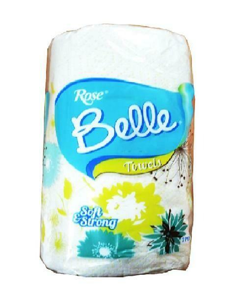 ROSE BELLE KITCHEN SINGLE TOWEL 2 PLY