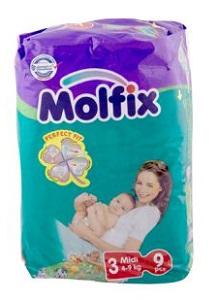 MOLFIX 3 MIDI 4-9 KG 9PCS