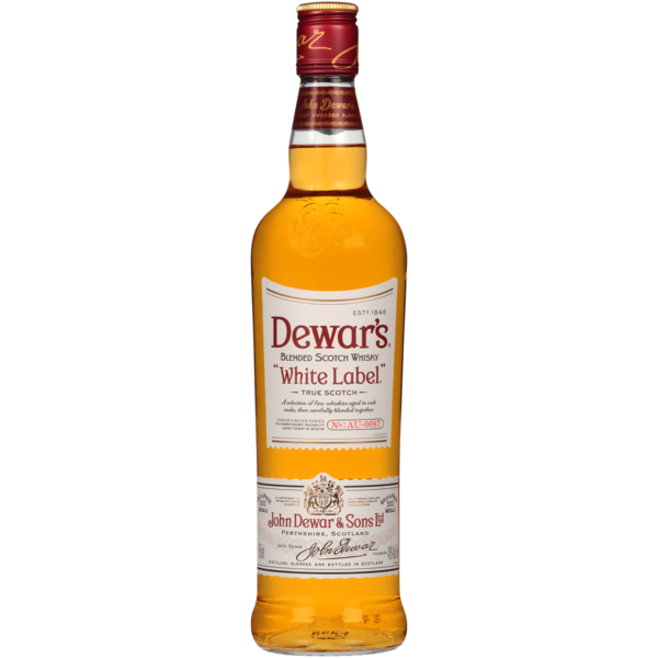 DEWAR'S SCOTCH WHISKY WHITE LABEL 75CL
