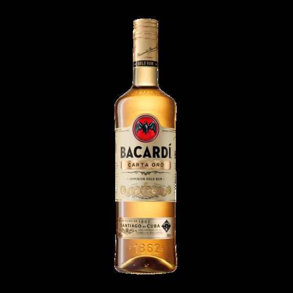 BACARDI CARTA ORO SUPERIOR GOLD RUM 750ML
