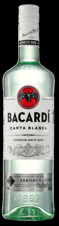 BACARDI CARTA ORO SUPERIOR WHITE RUM 750ML
