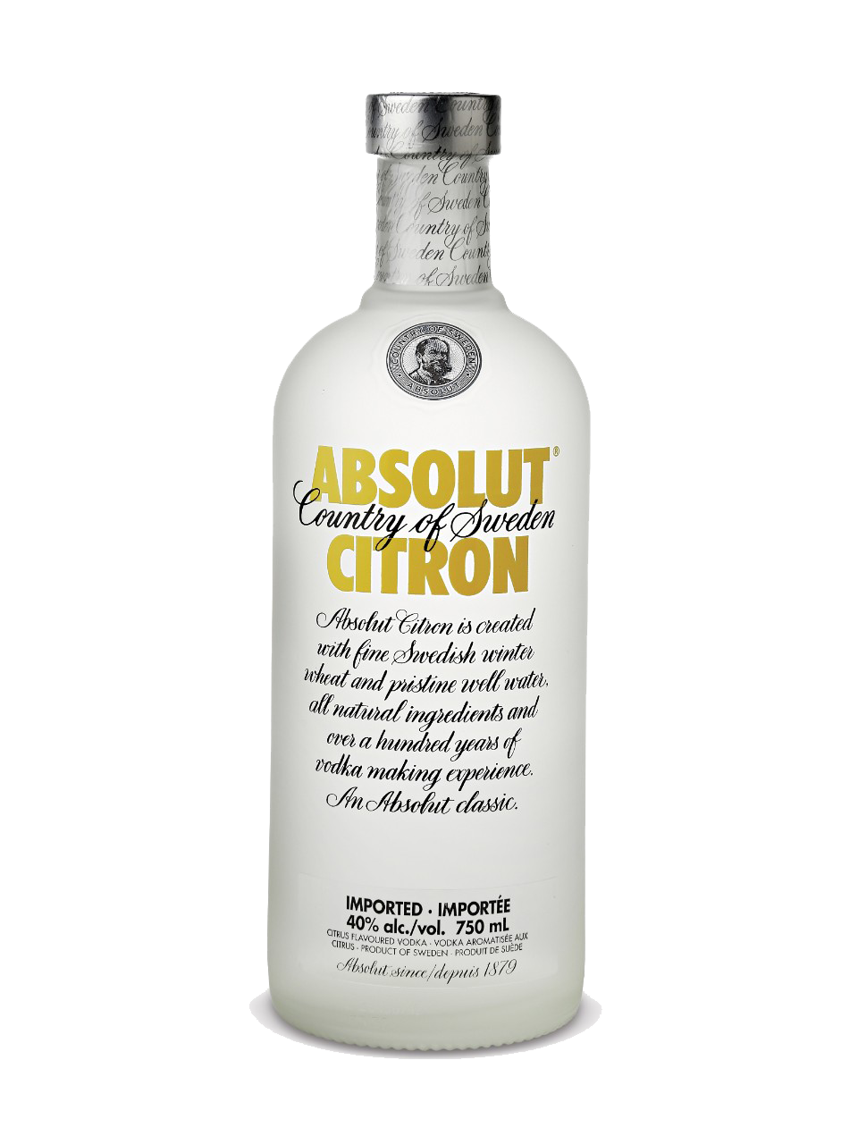 ABSOLUT VODKA CITRON 1LTR