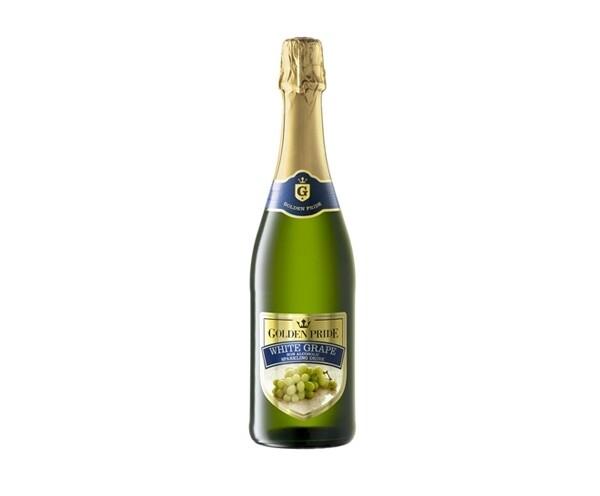 GOLDEN PRIDE WHITE GRAPE NON ALCOHOLIC SPARKLING DRINK 750ML