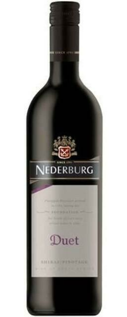 NEDERBURG FOUNDATION DUET SHIRAZ 750ML